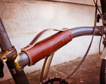 RAW Brompton Leather Handle