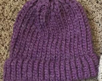 Hand Knit Hat (custom)