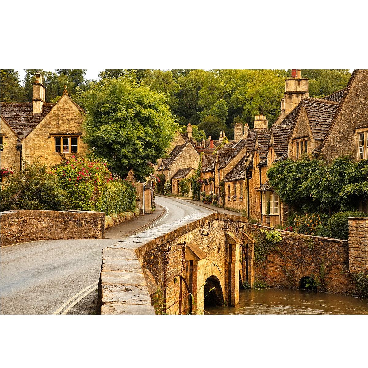 Cotswolds England Street Scene Quaint Village Quaint Village