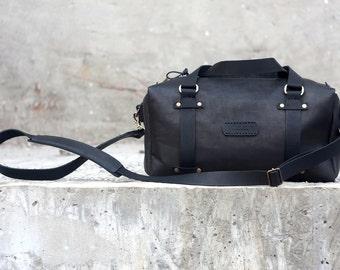 Papa duffle, leather duffle bag, leather weekender bag, overnight bag, leather gym bag, leather travel bag, leather duffle