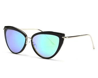 Modern Cat Eye Sunglasses
