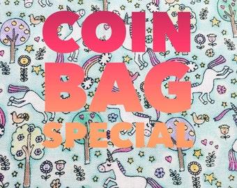 Unicorn coin bag