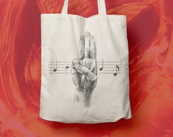 Tote Bag Mocking Jay, coton bag, beach bag,