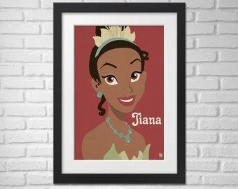 The Princess and the Frog Movie Poster Tiana /Princess and the Frog Movie Poster / Princess and the Frog / Tiana
