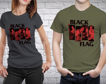 Black Flag T-Shirt [Black Flag / T-Shirt / Henry Rollins]
