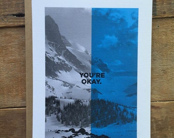 You're Okay - Uncommon Love Card