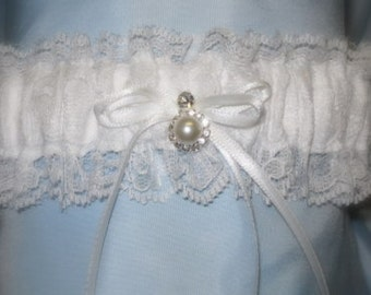 Simply Elegant Wedding Garter