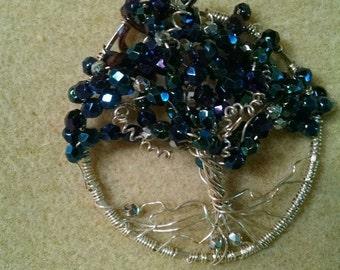 Royal Blue Tree of Life