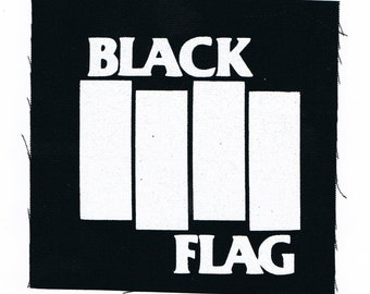 Black Flag Punk Patch