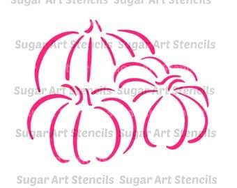 Pumpkins Thanksgiving Halloween Stencil for cookie decorating ,cookie stencil !  NB2047