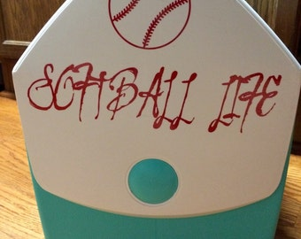 Custom Made-To-Order Cooler Decal
