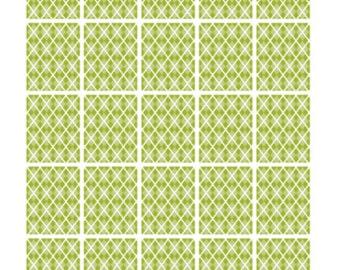 Green Argyle Full Boxes