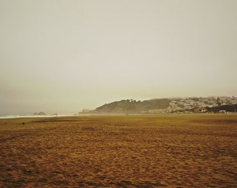 The fog - Picture - Wall Frame - South West Beach - SoCal - Pacific Ocean
