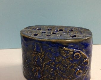Funky Flower Vase in Blue