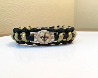 New Orlean Saints Paracord Bracelet