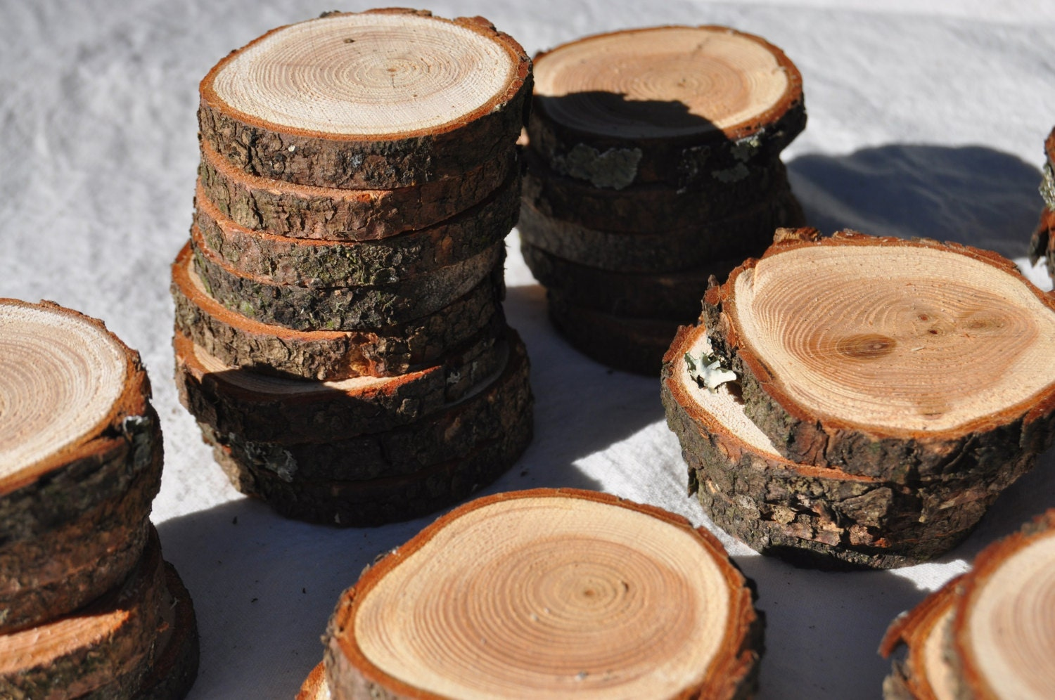100 wood slices on sale 2 wood slices wholesale wood for Wholesale craft supplies in bulk