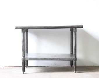 Industrial  Metal Table Small