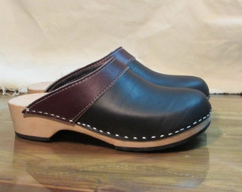 swedish wooden clogs in size 42
