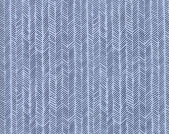 Moda Fabric  - Hazelwood - One Canoe Two - Sky - 36017 17- Cotton fabric by the yard