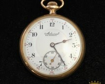 Admiral OF Pocket Watch size 8 Tacy Watch Co. SWISS