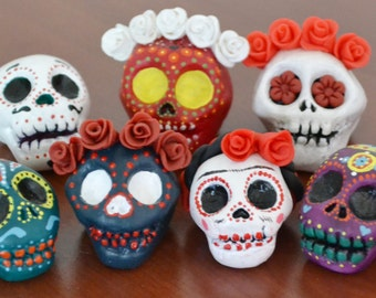 Sugar Skull Sculpture
