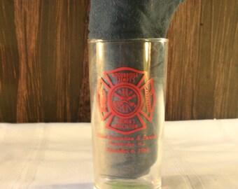 Woodbridge Exempt Firemen's Assoc 83rd Parade Fireman's Glass