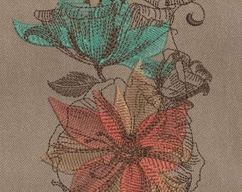 MACHINE EMBROIDERY DESIGN - Fl 011 _flowers