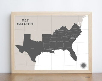 West USA Map Map Print Printable Usa Map Us Map Print Us - Us map south printable