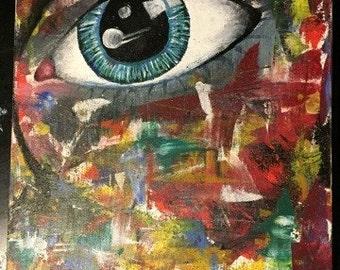 In a gaze