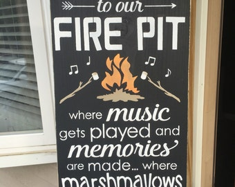 Firepit/music/memories/ toasted