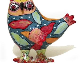 Owl figurine, gifts for bird lovers, owl, owlet, little owl, big owl, ceramic owl, ceramic bird, bird figurine, clay owl, clay bird