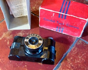 Camera Great Uncle Gust's from WW2. With Directions. Candid Type Camera.