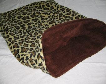 Pet Pocket Dog Cat Blanket Bed Bedding Sleeping Bag Easy In Out
