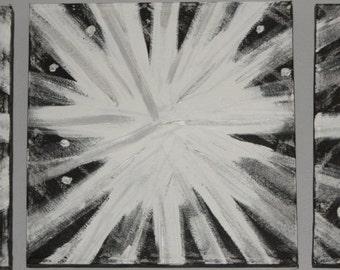 Abstract Art, Acylic Painting, Wall Art, Fireworks