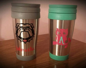Personalized Travel Cups