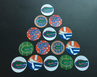 Florida Gators Mix Buttons Set of 15