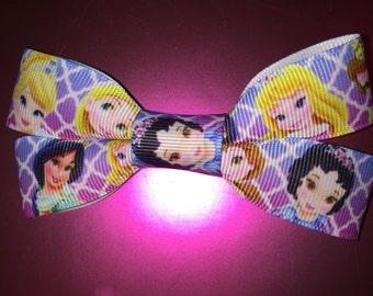 Princess Hair Bow Clip Disney