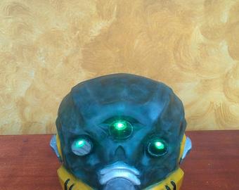 Destiny Mask of the Third Man helmet cosplay prop replica