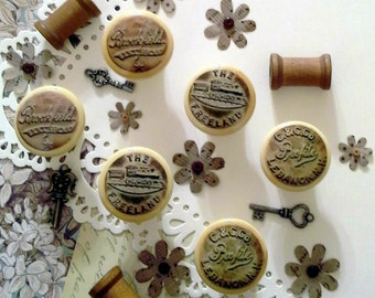 Hand Crafted Pulls/Knobs - Bundle of 6