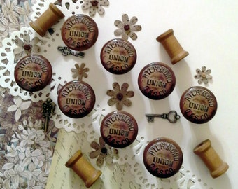 Hand Crafted Pulls/Knobs - Bundle of 8