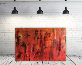 Interference - Abstract Painting, Modern Art, Fine Art, Expressionist Art, Painting on Canvas, Abstract Art, Home Decor