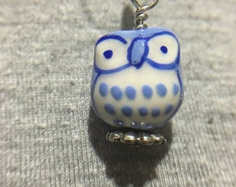 Little Owl Snag-Free stitch Markers