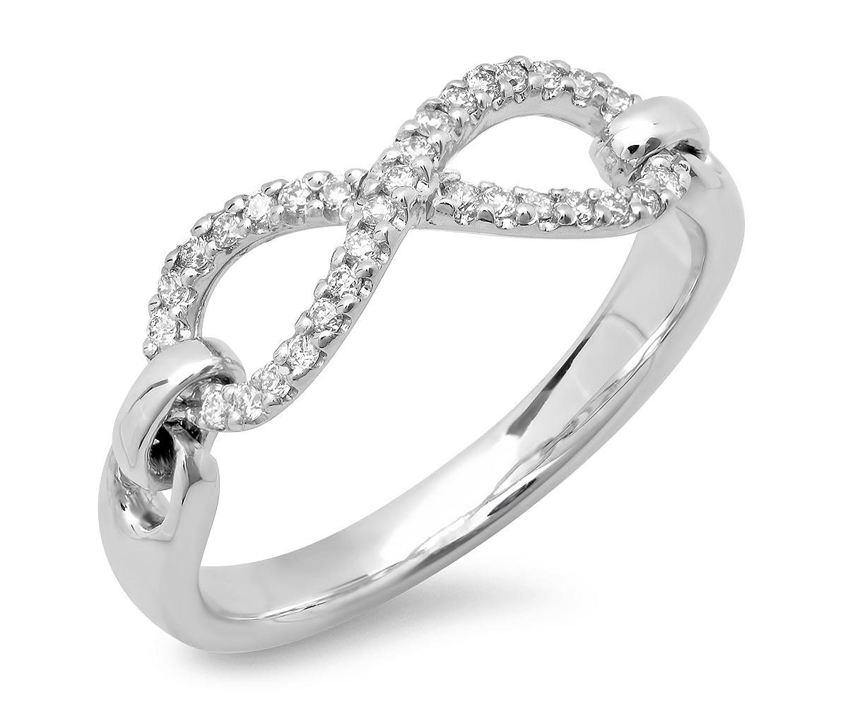 white gold infinity ring infinity ring yellow gold