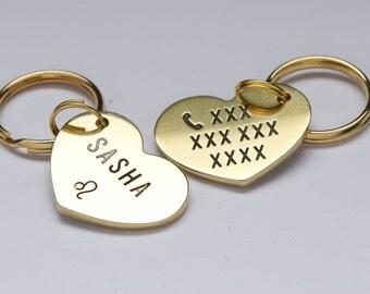 Dog Tag, Cat Tag, Pet ID Tag, Heart, Heart Shaped Tag, Custom, Personalized ID Tag