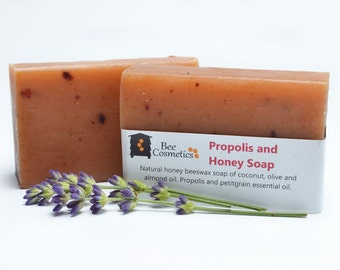 Propolis & Honey Beeswax Soap - 95g