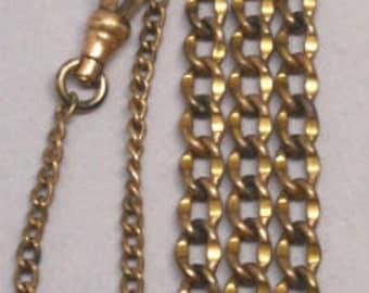 Antique Victorian Edwardian Pocket Watch Chain Fob
