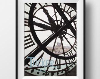 Musée d'Orsay Clock - Paris, France {clocks orsay travel photography Parisian museum wall art photo print photography decor architecture}