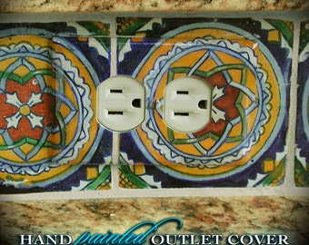 Custom Made to Order Hand-painted Outlet Cover
