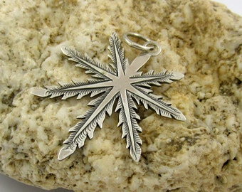 Sterling silver pendants handcrafted 32mm