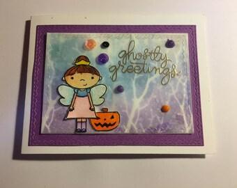 Halloween Fairy Greeting Card